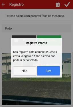 Registro da denúncia. (Foto: Leandro de Souza)
