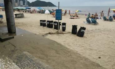 Rampa anexa à chuveiro. | Foto: Thiago Júlio