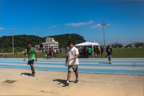 Cansaço tomou conta de todos os envolvidos na seletiva.   Foto: Andressa Zuffo.