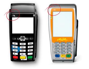 """""""Máquinas que tenham o símbolo do contactless (circulado em vermelho) suportam a solução da ATAR"""""""