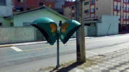 Telefone Público - Rua Uruguai. (Foto: Miriany Pimentel)