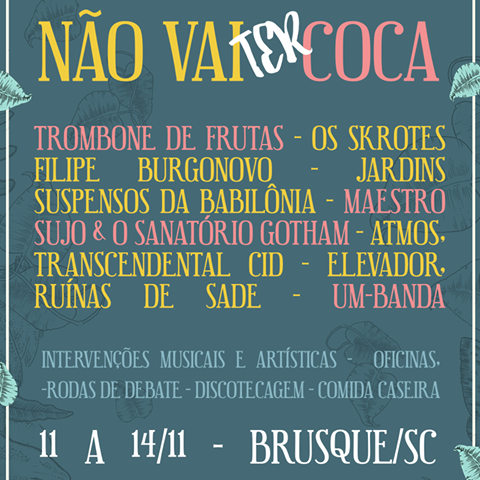 Line-up musical do evento