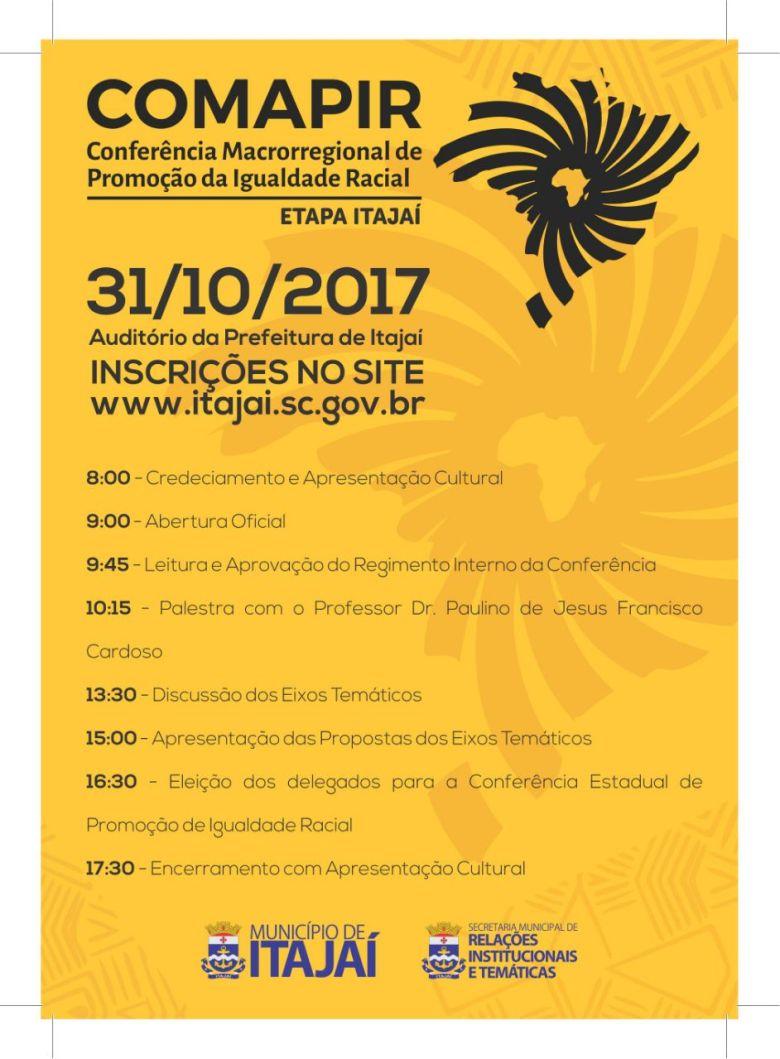 Conferência de Promoção da Igualdade Racial acontece em Itajaí_78263