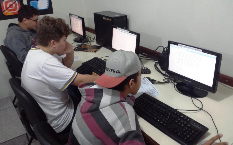 Estudantes da Escola Aníbal César fazem simulado da Prova Brasil_74800-Fotógrafo(a) - Divulgação